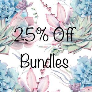 Other - Bundle for an extra 20% discount